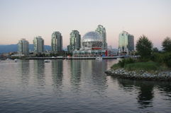 Vancouver's false creek Royalty Free Stock Photos
