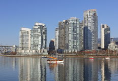 Vancouver's Famous Harbour Stock Image