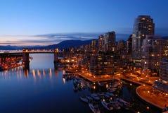 Vancouver's historic Burrard Bridge Royalty Free Stock Photos