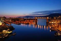 Vancouver's historic Burrard Bridge Stock Image