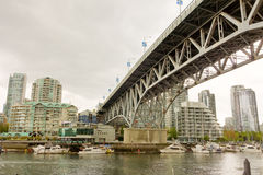 Vancouver's impressive waterfront Stock Images