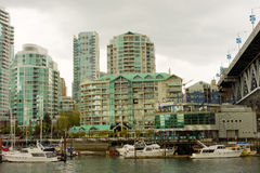 Vancouver's impressive waterfront Royalty Free Stock Photography
