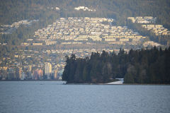 Vancouver`s Northshore Development Stock Image