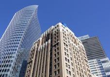 Vancouver's Skyscrapers Stock Photos