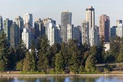 Vancouver ` s Stanley Park royaltyfria bilder