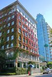 Vancouver ` s Sylvia Hotel Stock Foto