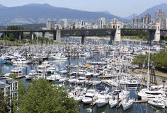 Vancouver`s Water Transportation Royalty Free Stock Photo