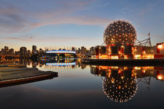 Vancouver Science World and BC Stadium Stock Image