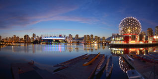 Vancouver Science World and BC Stadium stock images