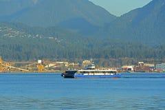 Vancouver Seabus, Vancouver, A.C., Canadá Imagen de archivo