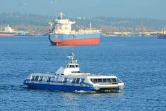 Vancouver Seabus, Vancouver, A.C., Canadá Imágenes de archivo libres de regalías