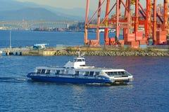 Vancouver Seabus, Vancouver, A.C., Canadá Fotografía de archivo libre de regalías