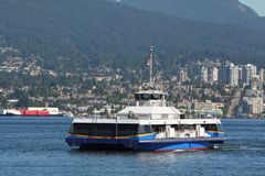 Vancouver Seabus Commuter Ferry Royalty Free Stock Photography