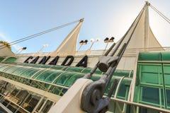 Vancouver seglar på det Kanada stället Arkivbild