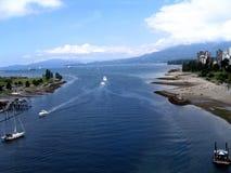 Vancouver shore fotografia royalty free