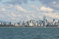 Vancouver Skyline 1 Royalty Free Stock Images