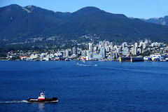 Vancouver Skyline Royalty Free Stock Photo