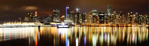 Vancouver Skyline Royalty Free Stock Photography
