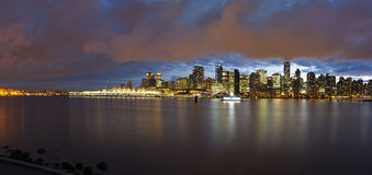 Vancouver Skyline Royalty Free Stock Images