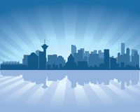 Vancouver skyline Stock Photos
