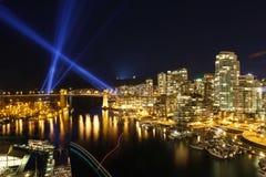 Vancouver-Skyline Lizenzfreie Stockfotos