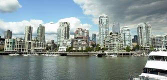Vancouver Skyline royalty free stock photography