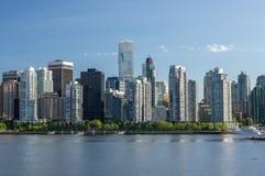 Vancouver-Skyline Lizenzfreies Stockfoto