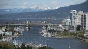 Vancouver-Skyline stock footage