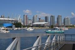 Vancouver-Skyline Stockbilder