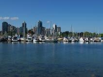 Vancouver-Skyline stockfotos