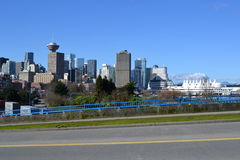 Vancouver-Skyline Lizenzfreie Stockfotografie