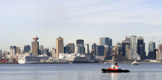 Vancouver Skyline, Canada Royalty Free Stock Photos