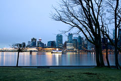 Vancouver Skyline Canada Stock Images