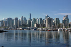 Vancouver skyline Stock Photo