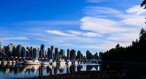 Vancouver Skyline. With many tall buildings Stock Images