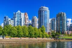 Vancouver Skyline Royalty Free Stock Image