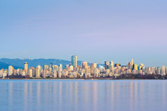 Vancouver Skyline - Vancouver, Canada Royalty Free Stock Photography
