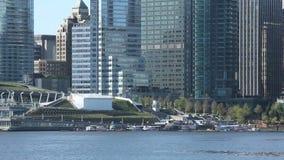 Vancouver Skyline stock video