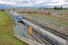 Vancouver Skytrain and Public Transit Stock Image