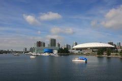 Vancouver-Stadion und Kasino Lizenzfreie Stockbilder