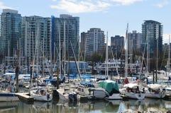 Vancouver-Stadt Stockfotos