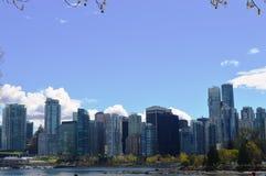 Vancouver-Stadt Stockfoto