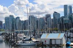 Vancouver-Stadt Stockbild