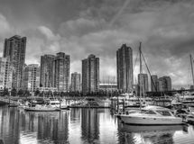 Vancouver-Stadt Lizenzfreie Stockfotos