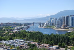 Vancouver-Stadtbild Lizenzfreies Stockbild