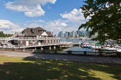 Vancouver Stanley Park Stock Foto's