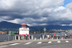 Vancouver. Stanley Park Royalty Free Stock Images