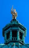 Vancouver Statue Legislative Buildiing Victoria Canada Stock Image