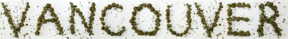 Vancouver stavade med marijuana Royaltyfri Bild