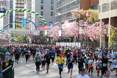 Vancouver Sun Run Starting LIne Stock Photo